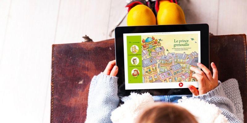 abonnements du J'aime lire store application enfant