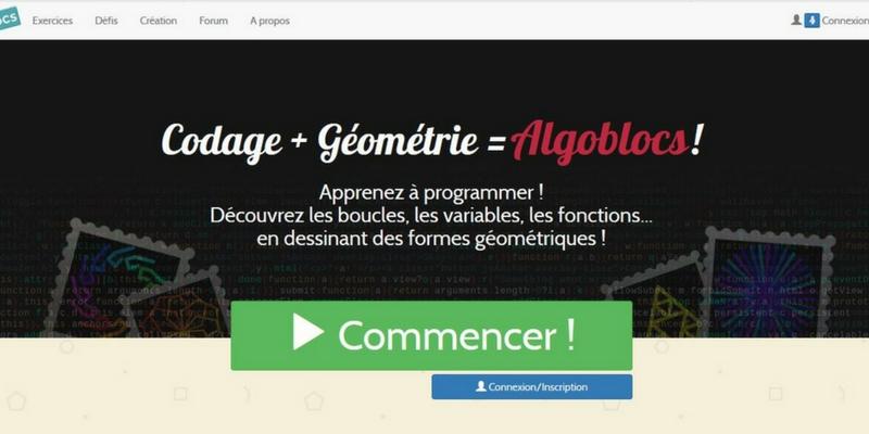 Algoblocs programmation