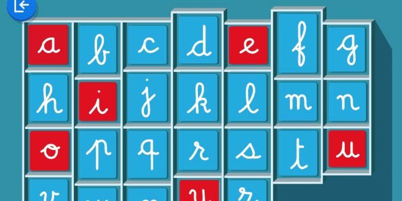 alphabet sonore application maternelle montessori