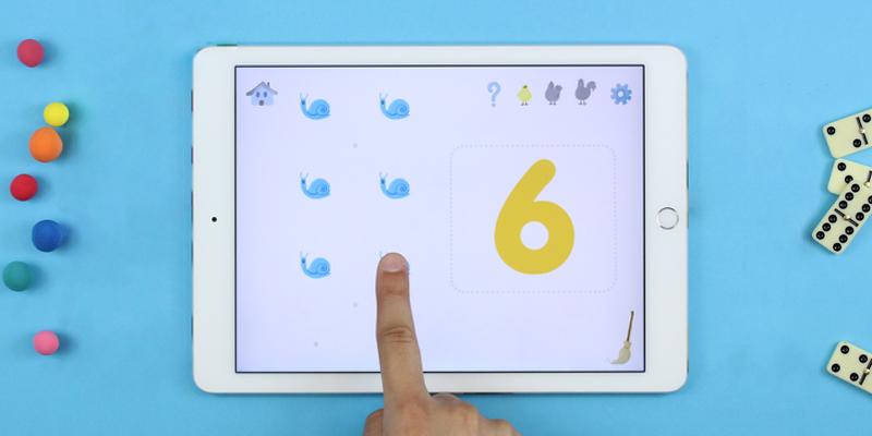 10 doigts application apprendre à compter