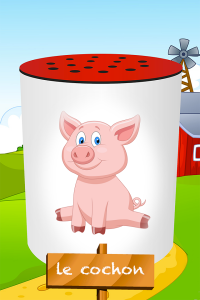 application-bruits-des-animaux-cochon