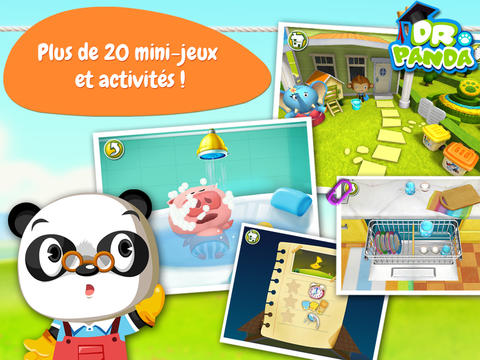 application-dr-panda-maison-activite