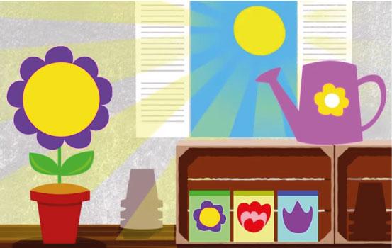 application-eveil-ipad-fun-town-fleurs