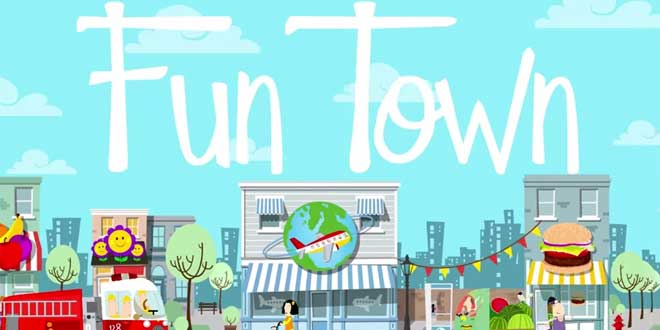 application-eveil-ipad-fun-town