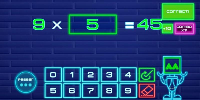 Application Math-E challenge multiplications