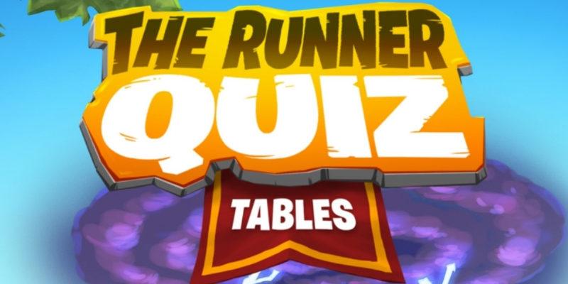 Application tables de multiplications The Runner Quiz Tables