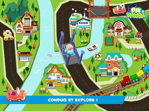 application-petites-voitures-Dr-Panda-ville