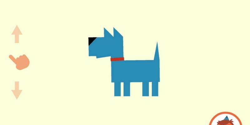 Artie crayon magique chien