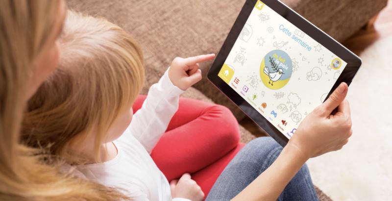 Bayam usage raisonné des écrans accueil app-enfant 2