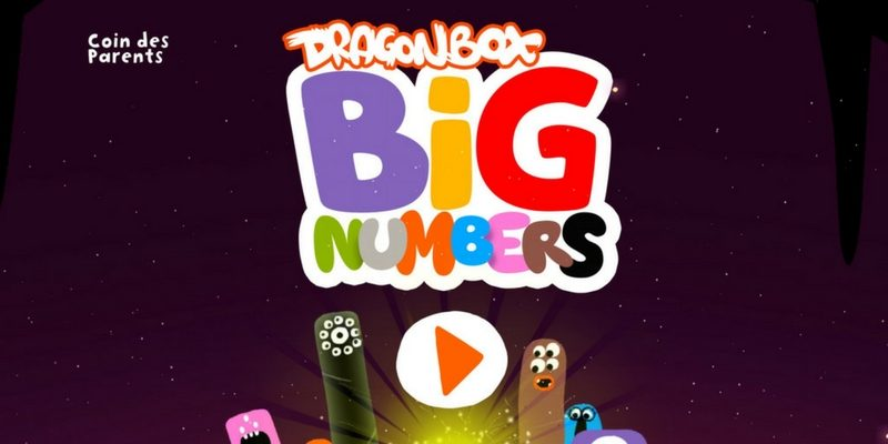 DragonBox Big Numbers application calcul