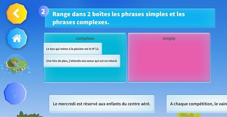 cahier de vacances CM2 français