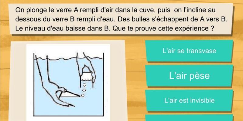 application de révision France télévisions sciences CM2