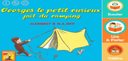Georges camping livre interactif