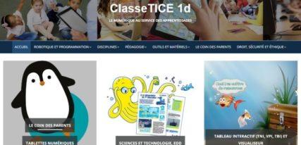 ClasseTICE usage du numérique à l'école