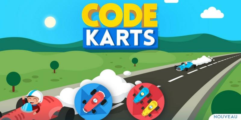 Code karts app enfant programmation