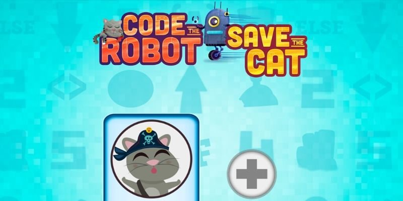 Code the robot application enfant