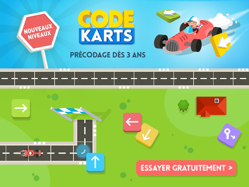 code karts programmation
