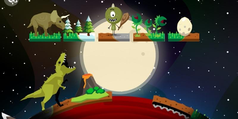 Comomola planets dinosaure