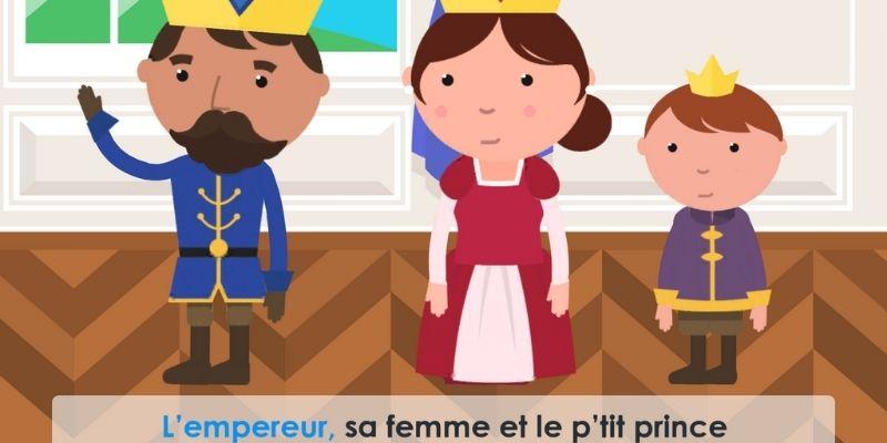 comptine l'empereur et le petit prince