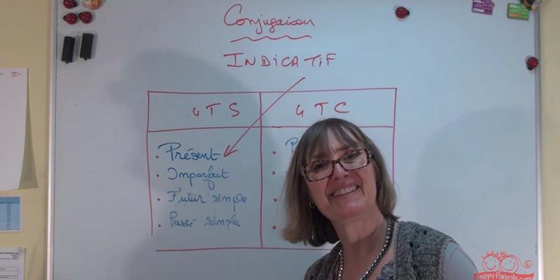 Conjugaison enseignante