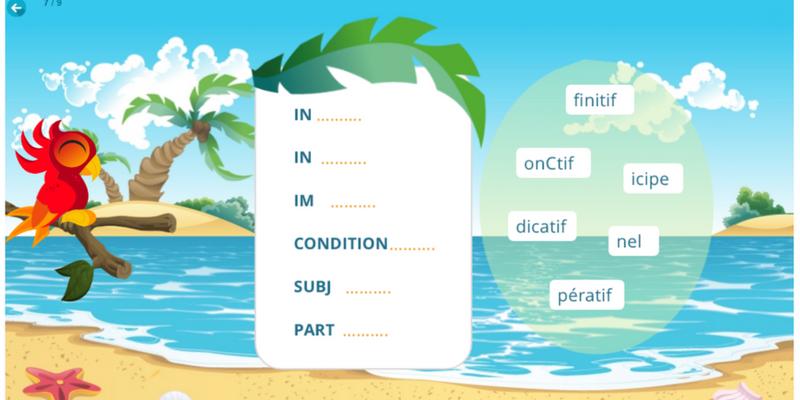 Conjugaison exercices modes