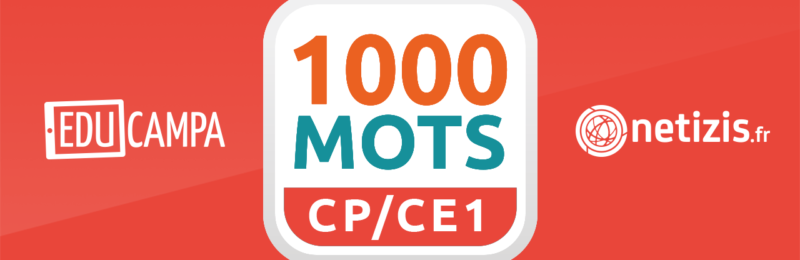 1000 mots CP CE1 application lecture