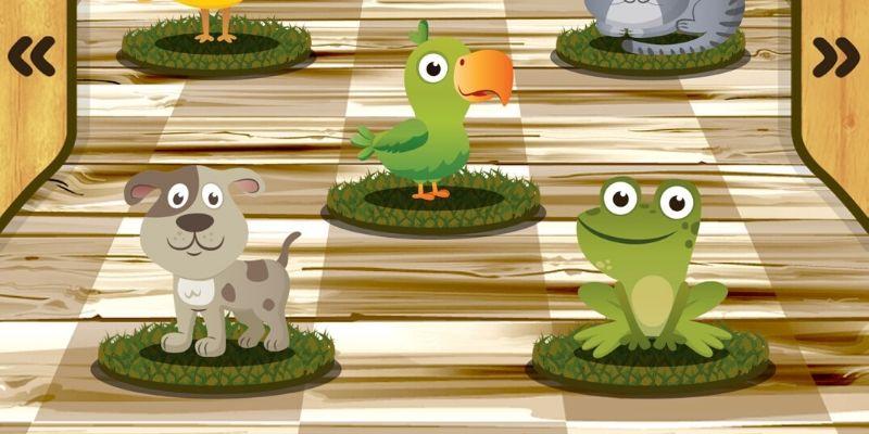 Cris d'animaux 5 animaux