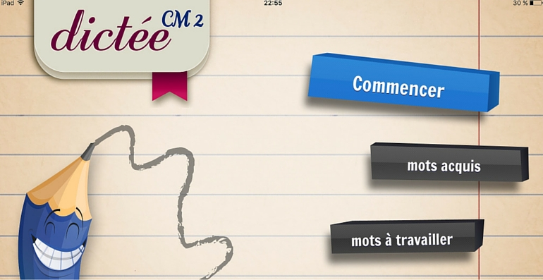 Dictée CM2 application orthographe
