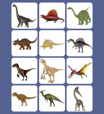 Kids Memory Match : Dinosaurs