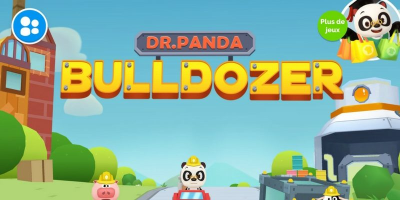 Dr Panda Bulldozer app construction