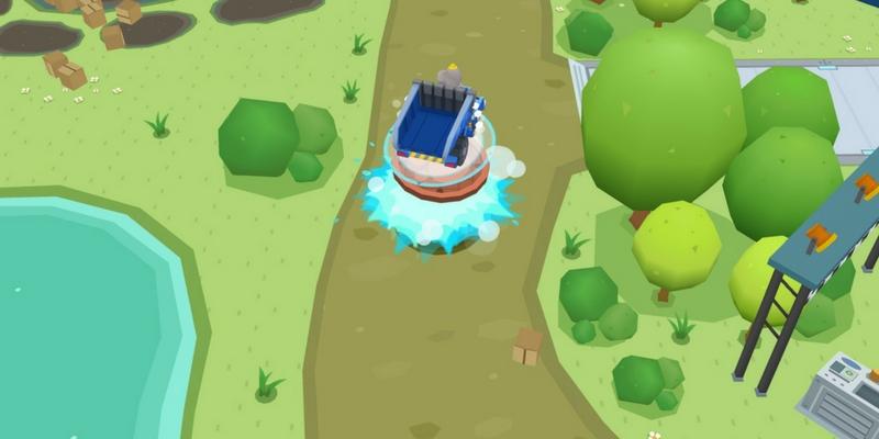 Dr Panda bulldozer jeux