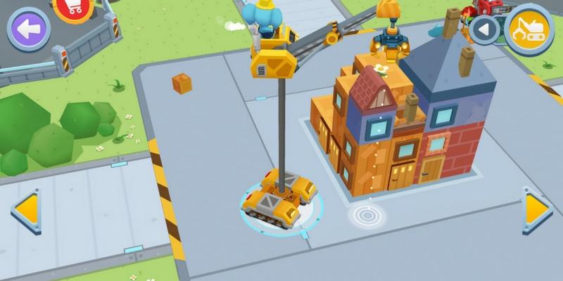 Dr Panda bulldozer maison