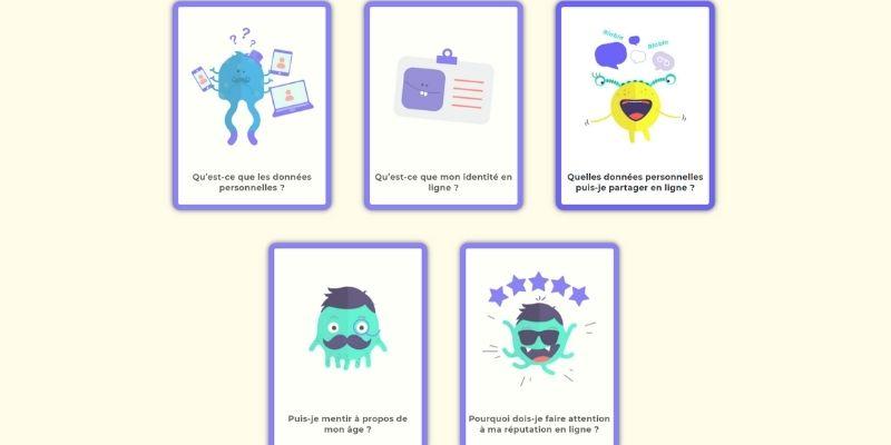 école des réseaux sociaux données personnelles