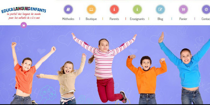 Educa langues enfants site