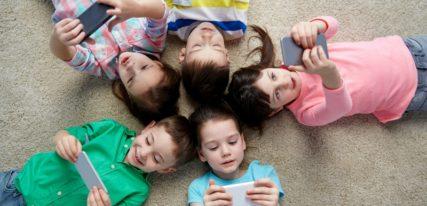 enfants accros aux écrans