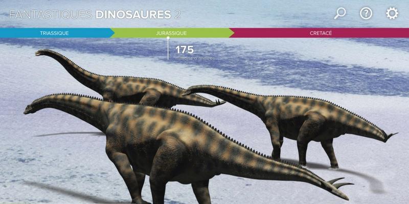 Fantastiques dinosaures 2 spinophorosaurus