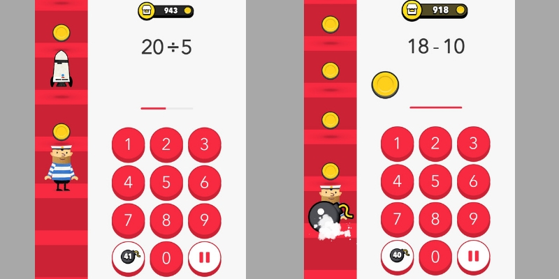 Fiete math climber application calcul exemple