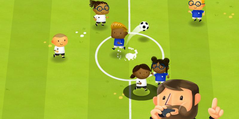 Fiete soccer app de foot pour enfants match