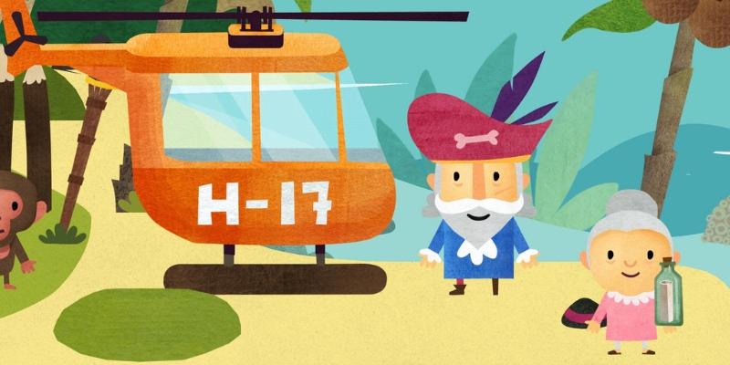 Fiete world app-enfant helicoptere crativite