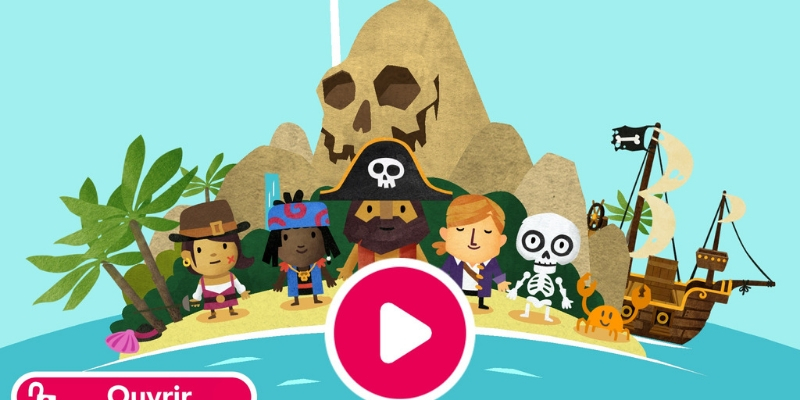 Fiete world ile des pirates app-enfant