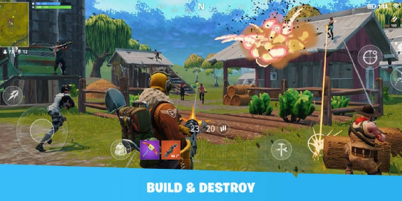 fortnite consruction bataille