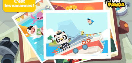 Dr Panda vacances ipad, android, amazon