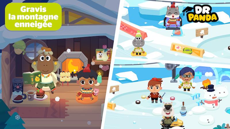 Dr Panda vacances ile de glace