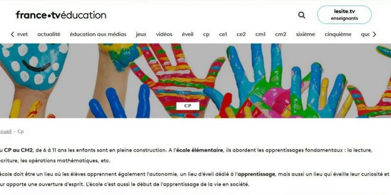France tv éducation primaire
