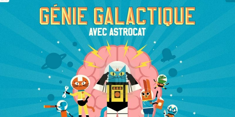 Genie Galactic Astrocat logique