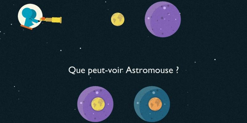 Génie Galactique application de logique astromouse