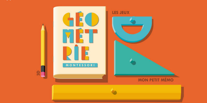 Géométrie Montessori application enfant