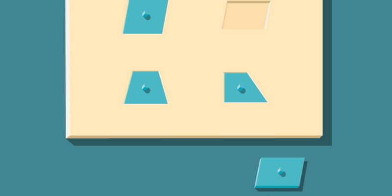 Géométrie Montessori manipulation