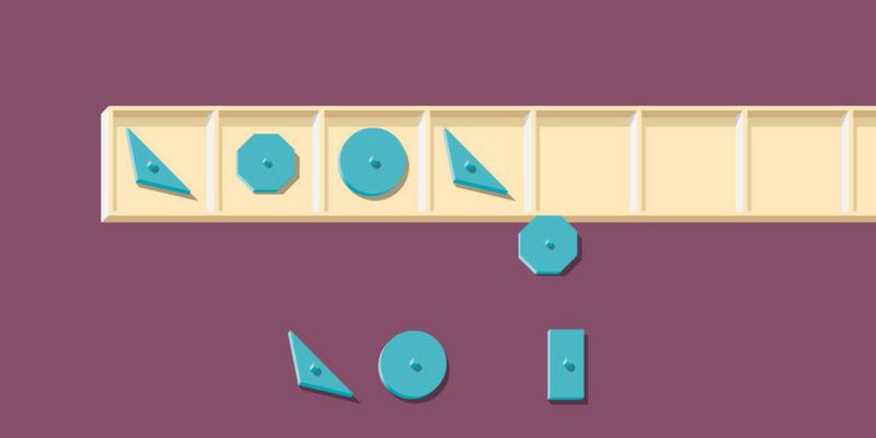 Géométrie montessori suite logique