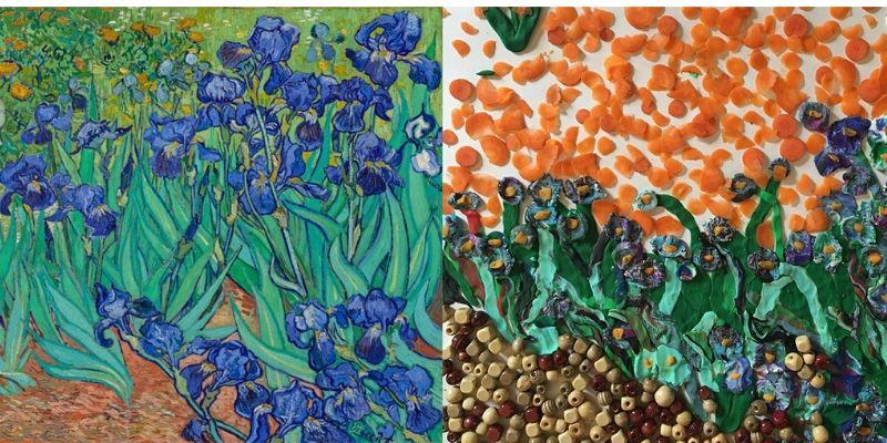 Getty Museum Challenge fleurs 1